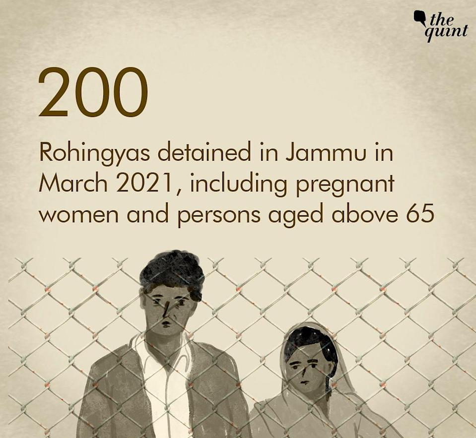 """The massive crackdown on Rohingua settlements is taking place in the union territory of Jammu & Kashmir under the """"anti-immigrant drive""""."""