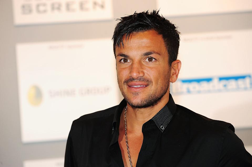 EDINBURGH, SCOTLAND - AUGUST 29:  Peter Andre, former husband of Katie Price a.k.a. Jordan, attends a photocall during the Media Guardian Edinburgh International Television Festival on August 29, 2009 in Edinburgh, Scotland.  (Photo by Martin McNeil/Getty Images)