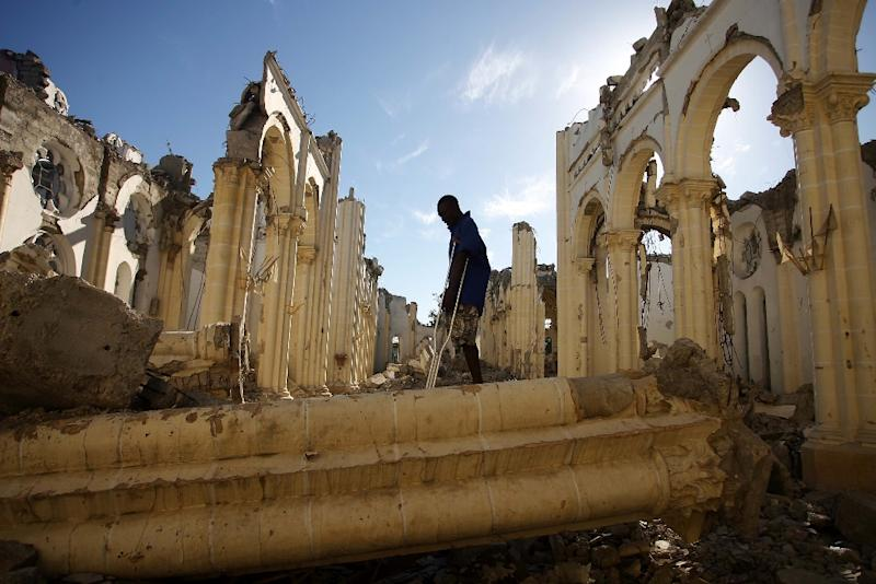 Haiti was devastated by an earthquake in January 2010 (AFP Photo/Hector Retamal)