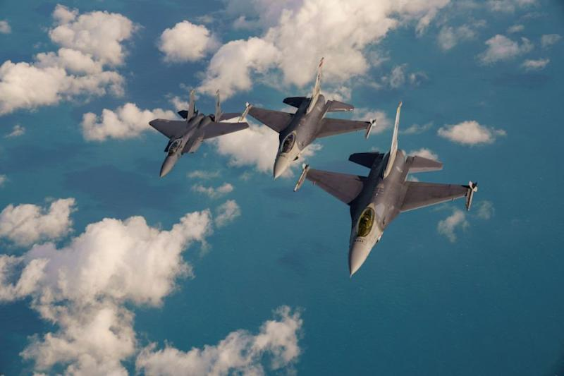 Fighter jets were dispatched to investigate - but the object disappeared. Photo: Getty