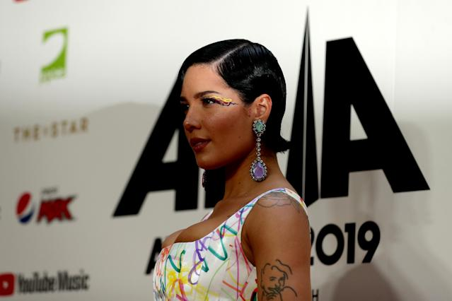 Halsey. [Photo: Getty]