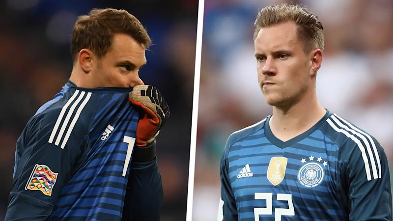Barcelona goalkeeper Ter Stegen has reached Neuer's level, says Beckenbauer