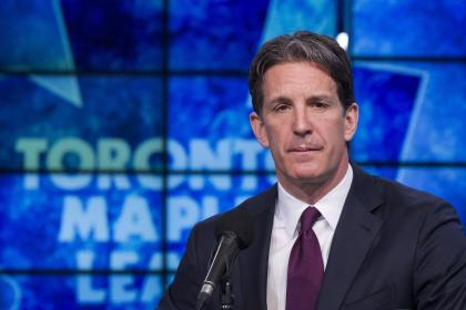 New Maple Leafs president Brendan Shanahan added an analytics department to the team in the offseason. (AP)
