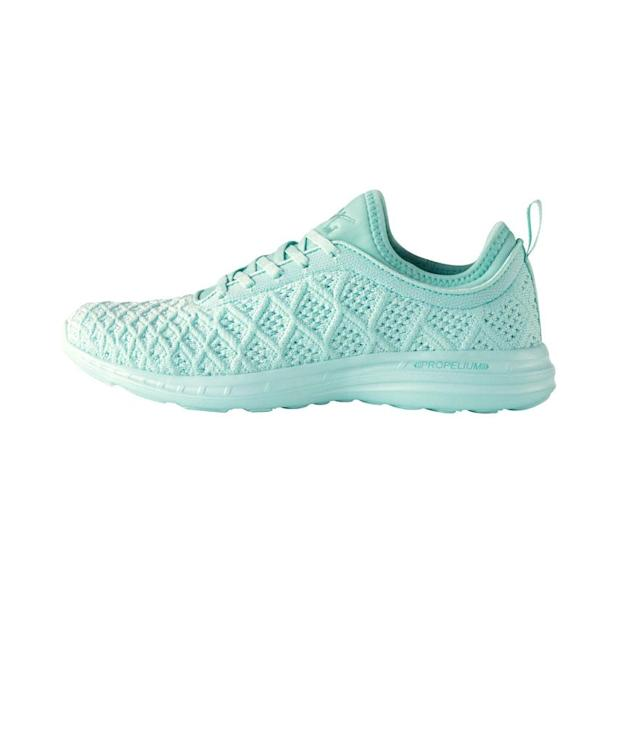 "<p>Women's TechLoom Phantom Spearmint, $165,<a href=""https://www.athleticpropulsionlabs.com/women-s-techloom-phantom-spearmint.html/"" rel=""nofollow noopener"" target=""_blank"" data-ylk=""slk:athleticpropulsionlabs.com"" class=""link rapid-noclick-resp""> athleticpropulsionlabs.com</a> </p>"