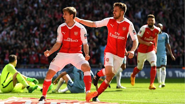 Arsenal midfielder Aaron Ramsey concedes the players have let Arsene Wenger down in another underwhelming season at the Emirates Stadium.