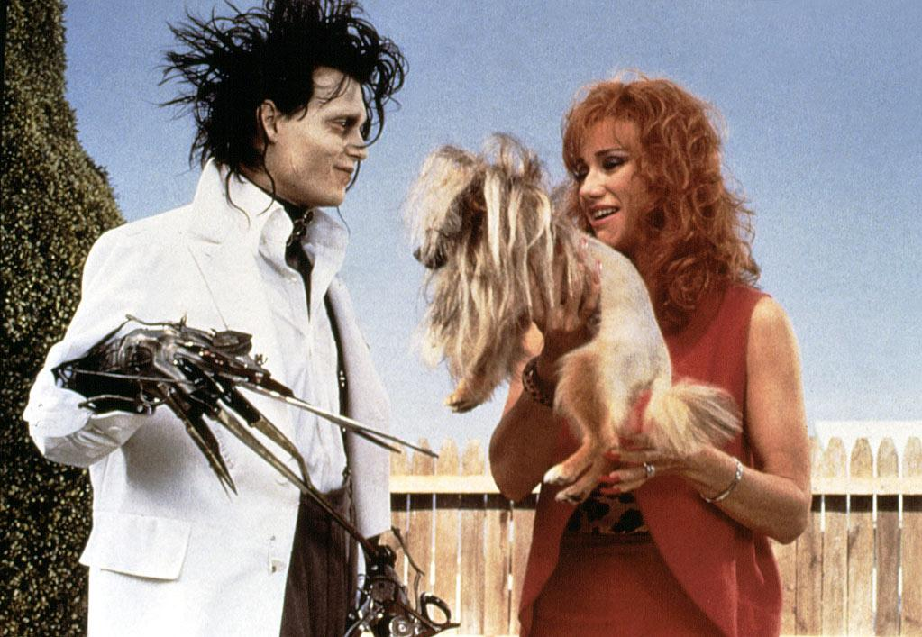 """2. """"Edward Scissorhands."""" Before being cast in the 1990 movie, Depp was best known for his role Fox's series """"21 Jump Street."""" He reportedly wanted the role of Edward, a young man who has scissors for hands, to break out of his teen idol status. To prepare for the role, """"'I watched a lot of Chaplin stuff, because he was a genius at expressing himself without words,"""" Depp told Entertainment Weekly. """"The one thing [director Tim Burton] stressed was keeping the character of Edward pure without begging people to feel sorry for him. To me, Edward is that feeling of insecurity -- the feeling you get when you're growing up and nothing you do is right, everything you touch breaks.""""'"""