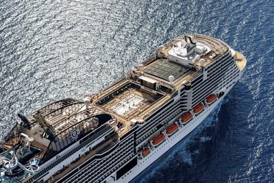 MSC Meraviglia will arrive to North Ameirca for the first time in October 2019, sailing two cruises from Manhattan to eastern Canada and New England before home porting in Miami.