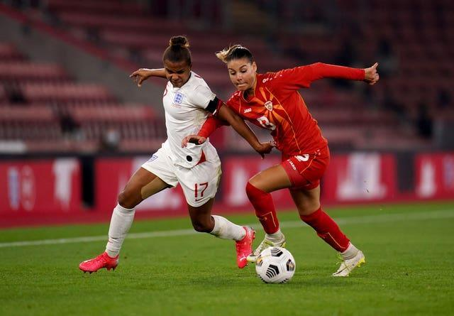 England v North Macedonia – FIFA Women's World Cup 2023 – UEFA Qualifier – Group D – St Mary's Stadium