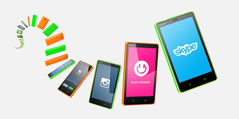 Nokia X2: a glowing example of a budget smartphone