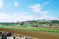 "<p><strong>Tell me: What's this place all about?</strong><br> Put on your biggest hat or chicest fascinator and head to the Del Mar Racetrack for horse races by the sea, ""where the turf meets the surf.""</p> <p><strong>What's it like being there?</strong><br> Whether you wager a bet ($2 minimum) or just cheer from the sidelines, this action-packed outing will get your blood pumping.</p> <p><strong>Who comes here?</strong><br> The track is open Wednesday through Sunday, holding about eight to 12 races daily. There are 30 minutes between races to place your bets or refill your drink. In general, it's mostly adults here. But during the track's non-racing hours, the venue holds special events like food truck festivals and concerts.</p> <p><strong>Did it meet expectations?</strong><br> Gamblers and high-rollers certainly won't be disappointed, but even if you're not a betting man or woman, it's such an action-packed experience you're bound to have fun.</p> <p><strong>Got it. Any other tips?</strong><br> The summer racing series runs from mid-July through early September, with opening day drawing the largest and liveliest crowd. The smaller Bing Crosby season in the fall lasts for about a month, primarily in November. No matter what time of year you visit the track, it's a good idea to bring a light jacket or sweater. The so-called ""marine layer""—an air mass that develops over the surface of a large body of water—brings a chill year-round, especially for spectators seated in the shade. General admission starts at $6, the price goes up if you want a seat.</p>"