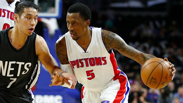 The Pistons made Caldwell-Pope an unrestricted free agent agent after trading for Avery Bradley.