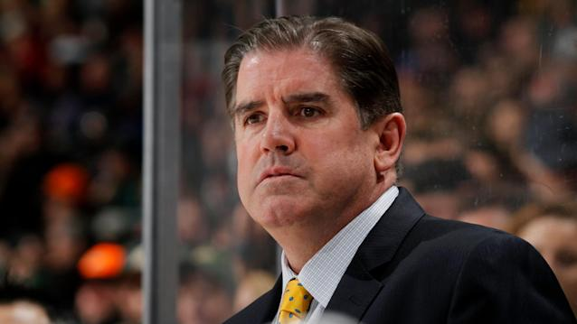 The Nashville Predators have fired their head coach after a slow start to the 2019-20 season. (Photo by Bruce Kluckhohn/NHLI via Getty Images)