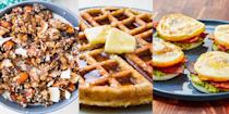 """<p>So, you've committed to the ever-growing keto diet, but you're not quite sure where to start? Especially when it comes down to what to eat for <a href=""""https://www.delish.com/uk/cooking/recipes/g30312476/low-carb-breakfast-recipes/"""" rel=""""nofollow noopener"""" target=""""_blank"""" data-ylk=""""slk:breakfast"""" class=""""link rapid-noclick-resp"""">breakfast</a>. Well, have no fear! Because we've got some insanely delicious, and very easy keto breakfast recipes including <a href=""""https://www.delish.com/uk/cooking/recipes/a34434476/avocado-egg-boats-recipe/"""" rel=""""nofollow noopener"""" target=""""_blank"""" data-ylk=""""slk:Avocado Egg Boats"""" class=""""link rapid-noclick-resp"""">Avocado Egg Boats</a>, <a href=""""https://www.delish.com/uk/cooking/recipes/a34939698/bacon-weave-breakfast-tacos/"""" rel=""""nofollow noopener"""" target=""""_blank"""" data-ylk=""""slk:Bacon Weave Breakfast Tacos"""" class=""""link rapid-noclick-resp"""">Bacon Weave Breakfast Tacos</a> and <a href=""""https://www.delish.com/uk/cooking/recipes/a30698271/cabbage-hash-browns-recipe/"""" rel=""""nofollow noopener"""" target=""""_blank"""" data-ylk=""""slk:Cabbage Hash Browns"""" class=""""link rapid-noclick-resp"""">Cabbage Hash Browns</a>. And we're convinced you're going to love 'em! </p>"""