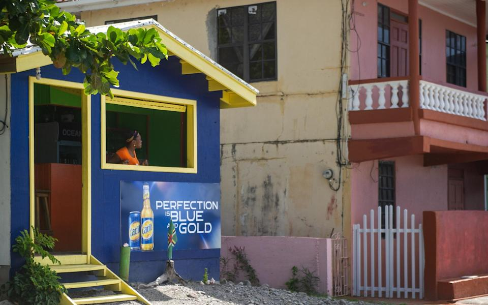 A bar in Soufriere - Mark Stratton