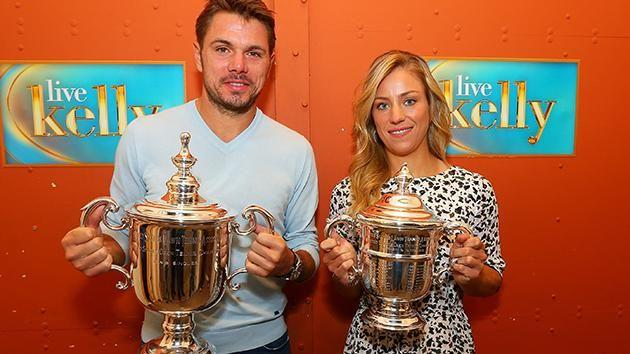 Stan Wawrinka and Angelique Kerber took out last year's titles. Pic: Getty
