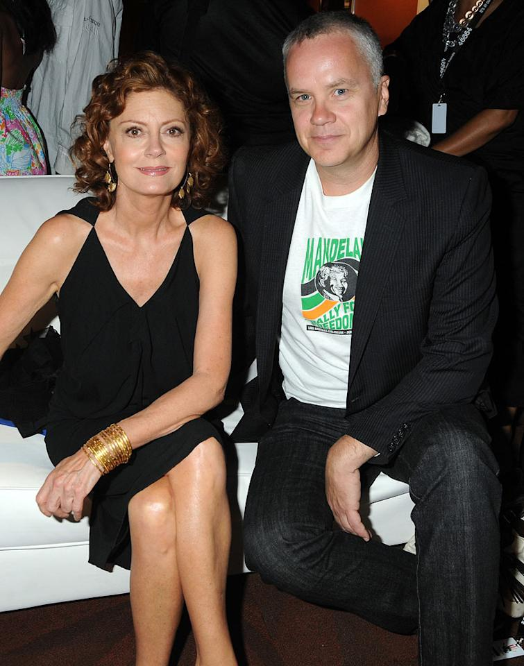 """Susan Sarandon and her partner of 23 years, Tim Robbins, announced in December that they separated in the summer of 2009. The couple, who met while filming """"Bull Durham,"""" have two sons together: Jack Henry, 20, and Miles Guthrie, 17. Dave M. Benett/<a href=""""http://www.gettyimages.com/"""" target=""""new"""">GettyImages.com</a> - July 18, 2009"""