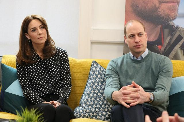 """Duke and Duchess of Cambridge who have pledged to make supporting the mental health of frontline workers battling coronavirus their """"top priority"""" in the months ahead. Brian Lawless/PA Wire"""