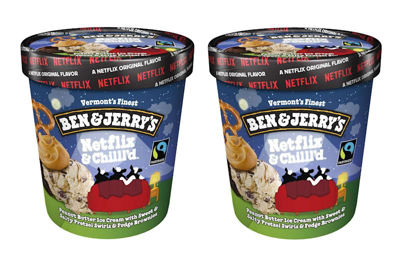 Ben & Jerry's new ice cream is perfect for a Netflix binge