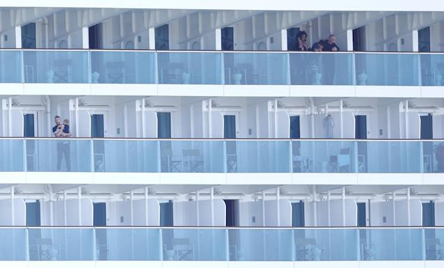 Several thousand passengers are thought to be onboard the Costa Smeralda (Reuters)