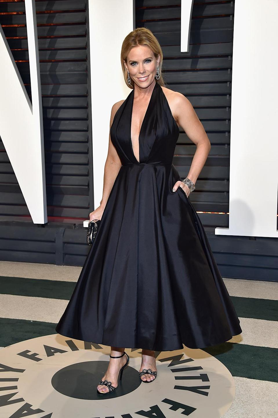 <p>Cheryl Hines attends the 2017 Vanity Fair Oscar Party hosted by Graydon Carter at Wallis Annenberg Center for the Performing Arts on February 26, 2017 in Beverly Hills, California. (Photo by Pascal Le Segretain/Getty Images) </p>