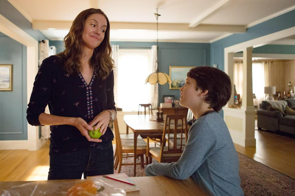 Erinn Hayes joined the cast of <em>The Dangerous Book for Boys</em> shortly after her odd departure from <em>Kevin Can Wait</em> in 2017. (Photo: Giovanni Rufino/Amazon/Courtesy of Everett Collection)