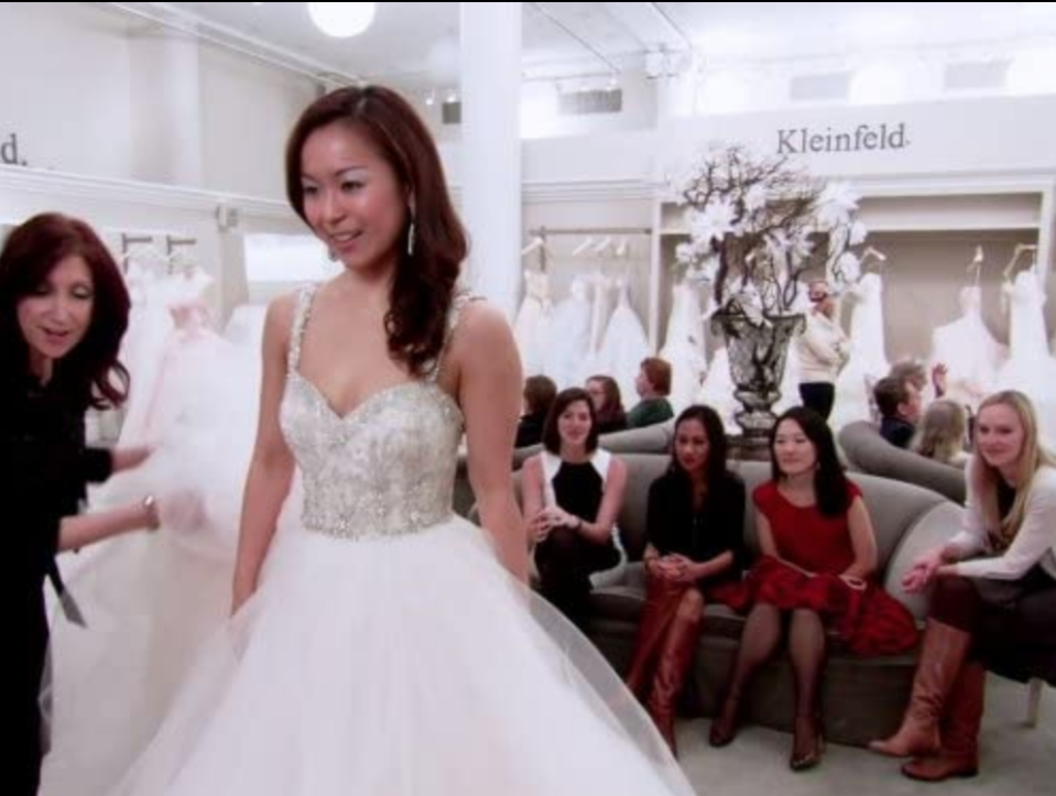 """<p>A traditional wedding dress appointment takes an hour or two, but brides on the show should <a href=""""https://www.goodhousekeeping.com/life/entertainment/a30457738/say-yes-to-the-dress-tlc-behind-the-scenes-secrets/"""" rel=""""nofollow noopener"""" target=""""_blank"""" data-ylk=""""slk:prepare to film for an eight- to 10-hour day"""" class=""""link rapid-noclick-resp"""">prepare to film for an eight- to 10-hour day</a>. This gives production enough time to capture interviews, the fitting, and more.</p>"""