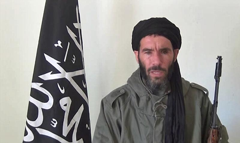 An ANI Mauritanian news agency image reportedly shows former Al-Qaeda in the Islamic Maghreb leader Mokhtar Belmokhtar (AFP Photo/)