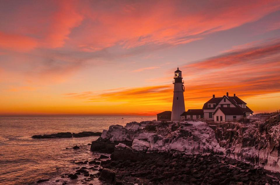 <p>Portland Head Light is known as the most photographed lighthouse in the United States, and it's easy to see why. </p>