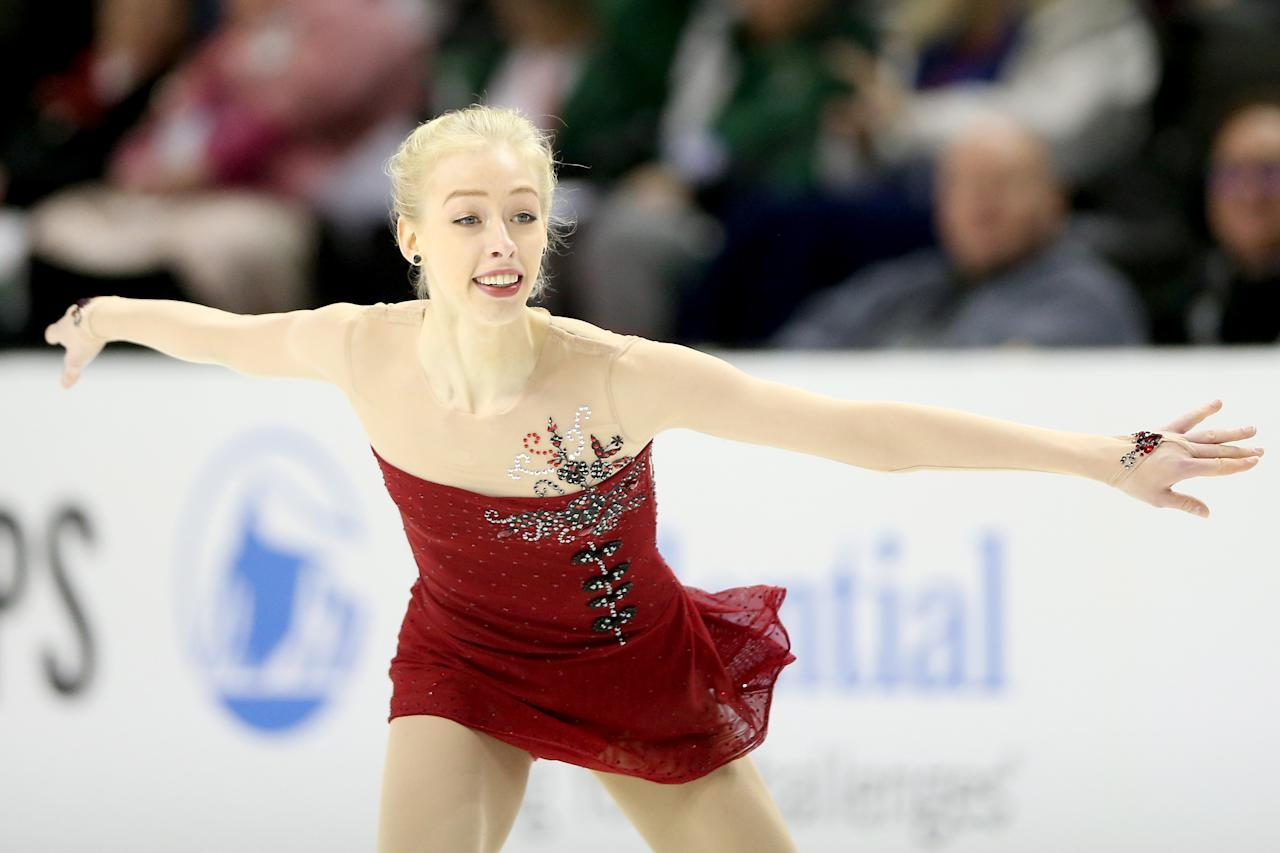 <p>The rise of Bradie Tennell reads like a Cinderella story on hyperdrive. Her fairy tale includes a surprise win at the 2018 U.S. Figure Skating Championships, landing a spot on Team USA, and then winning a bronze medal with Team USA's third place finish in the team figure skating event at the 2018 Winter Olympics.<br /> (Photo by Matthew Stockman/Getty Images) </p>