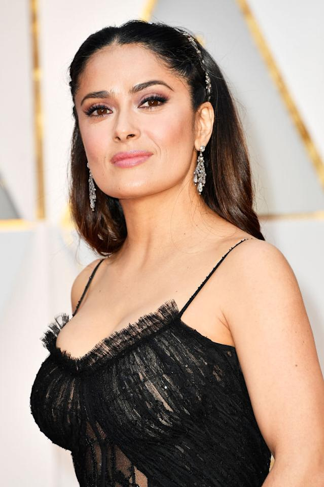 <p>Salma Hayek's perfectly arched brows never fail to amaze. </p>
