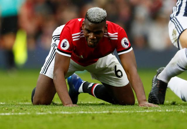 Paul Pogba's heroics against Manchester City were forgotten as he turned in a lacklustre display against West Bromwich Albion at Old Trafford on Sunday.