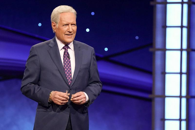 "Alex Trebek began hosting ""Jeopardy!"" in 1984. (Photo: Eric McCandless/ABC via Getty Images)"