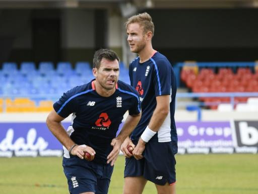 James Anderson (left) and Stuart Broad have been the mainstay of England's Test attack for many years