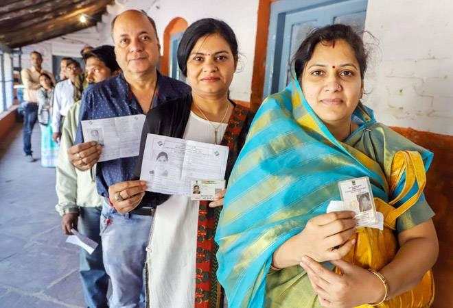 Both Madhya Pradesh and Mizoram registered a voter turnout of 75 per  cent. The results for the Assembly elections in both states will be  declared on December 11.