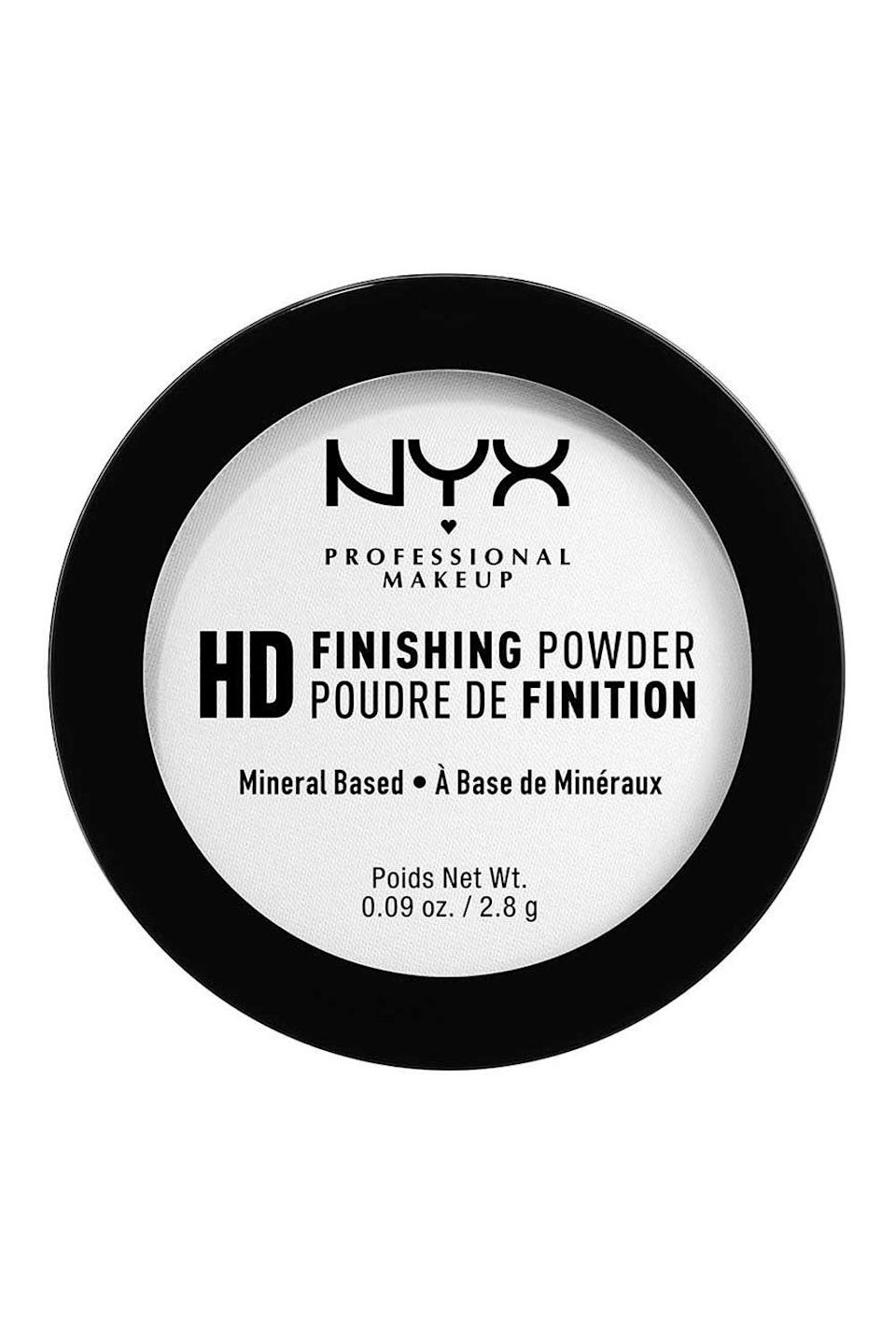 """<p><strong>NYX</strong></p><p>ulta.com</p><p><strong>$7.50</strong></p><p><a href=""""https://go.redirectingat.com?id=74968X1596630&url=https%3A%2F%2Fwww.ulta.com%2Fulta%2Fbrowse%2FproductDetail.jsp%3FproductId%3DxlsImpprod12011173&sref=https%3A%2F%2Fwww.cosmopolitan.com%2Fstyle-beauty%2Fbeauty%2Fg32729898%2Fbest-drugstore-setting-powder%2F"""" rel=""""nofollow noopener"""" target=""""_blank"""" data-ylk=""""slk:Shop Now"""" class=""""link rapid-noclick-resp"""">Shop Now</a></p><p>Say it with me: Setting powder is supposed to work <em>with</em> your makeup, not against it. If you're noticing that your powder isn't meshing with your makeup (AKA it's pilling or caking up), switch to this drugstore setting powder. <strong>It's so lightweight, the translucent formula basically disappears on your skin.</strong> So go ahead and layer it on top of your <a href=""""https://www.cosmopolitan.com/style-beauty/beauty/g10202733/best-drugstore-foundations/"""" rel=""""nofollow noopener"""" target=""""_blank"""" data-ylk=""""slk:foundation"""" class=""""link rapid-noclick-resp"""">foundation</a>—you won't notice it.</p>"""