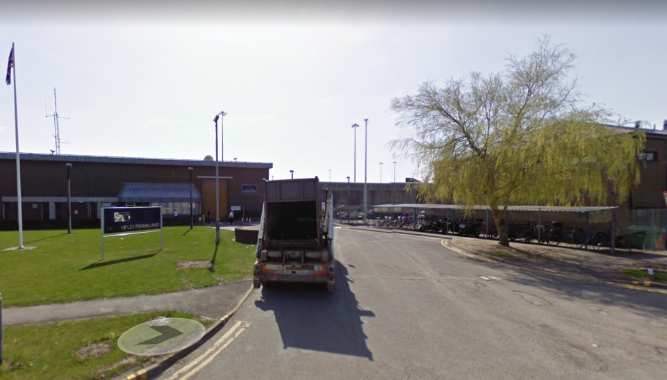 HMP Frankland, where Sutcliffe was being held. (Google Maps)