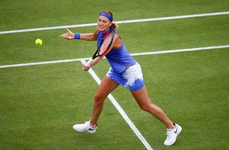 Petra Kvitova wins first title since stabbing at Aegon Classic in Birmingham
