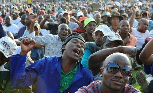 The South African miners dispute started on August 10