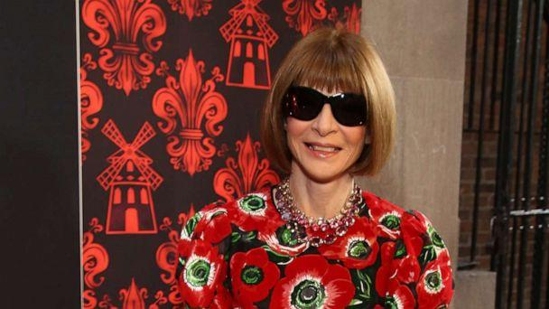 PHOTO: Anna Wintour attends the Broadway Opening Night performance of 'Moulin Rouge! The Musical' at the Al Hirschfeld Theatre on July 25,2019, in New York. (Walter Mcbride/WireImage via Getty Images)