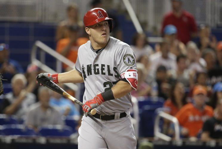 38cdaecfa16 View photos. Mike Trout revealed his Nike ...
