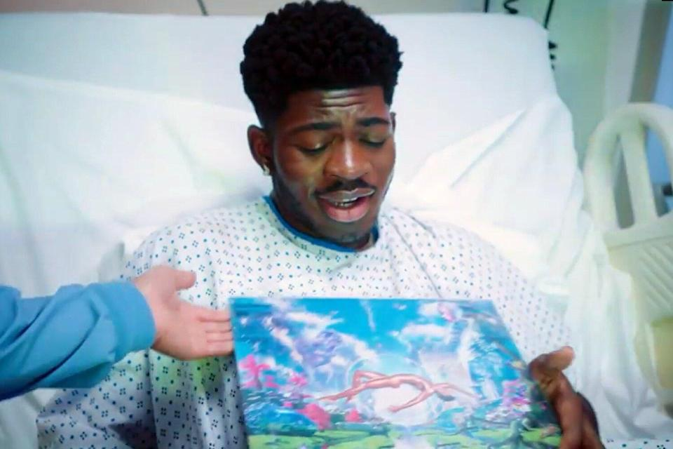 Lil Nas X Gives Birth to First Studio Album in Delivery Video