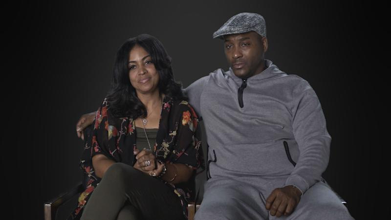 Alice Clary and Angelo Clary, the parents of Azriel Clary, in 'Surviving R. Kelly' | Courtesy of Lifetime