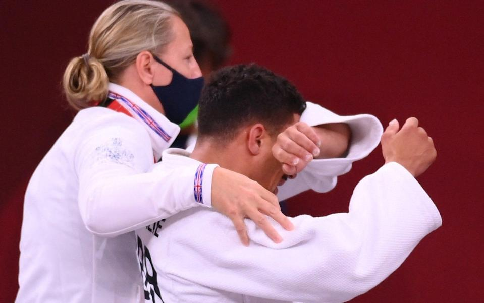 'I just want to go home': Britain's judo bad boy and reality TV star cries as Olympics lasts four minutes - AFP