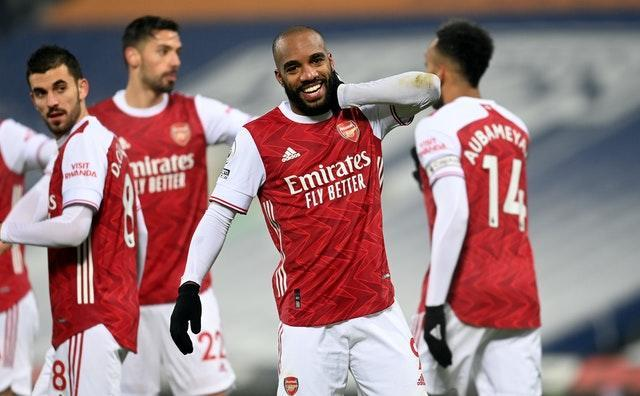 Alexandre Lacazette scored two goals in the second half as Arsenal secured a 4-0 win