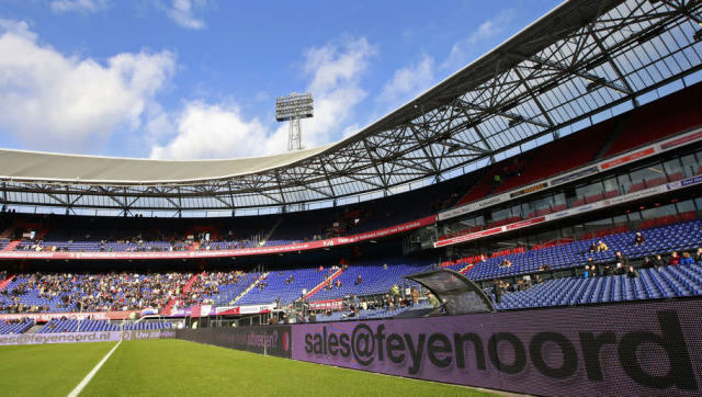 <p><strong>Average attendance: 47,464</strong></p> <p>Stadium capacity: 51,177</p> <p>Occupancy rate: 92.7%</p> <br><p>A sleeping giant when it comes to European football, Feyenoord's De Kuip stadium is an exciting place on matchdays. The Eredivisie side remain one of the biggest clubs in the Netherlands. </p>