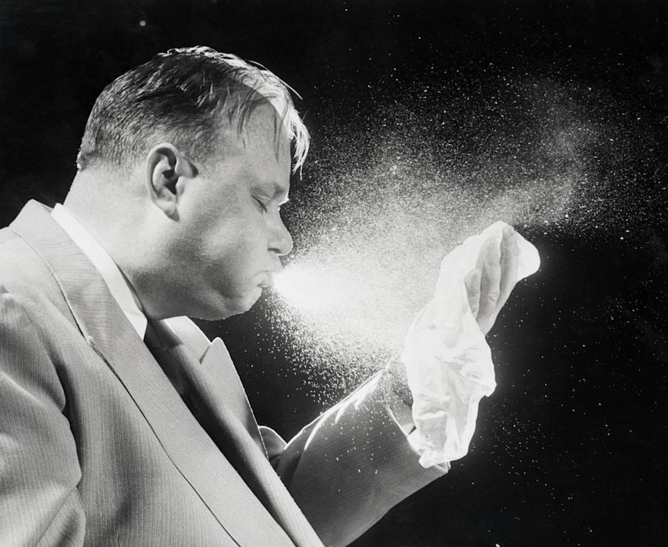 The flu can spread much more easily than was previously thought. (Photo: Getty Images)