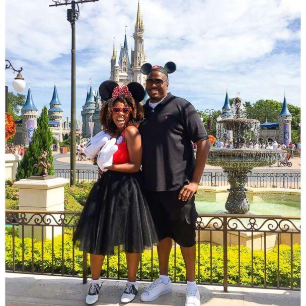 PHOTO: Patrice Jenkins, a Disney super-fan, and her husband are photographed here. (Courtesy Patrice Jenkins)