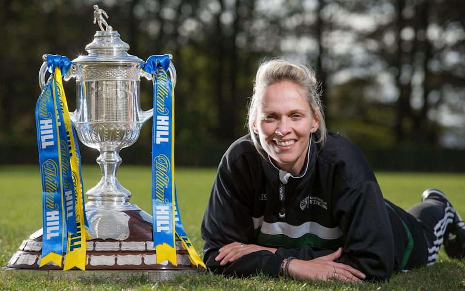 Shelley Kerr became the first woman to manage a senior men's team when she took charge of the University of Stirling in 2014 - Steve_Welsh /STEVE_WELSH_07768530664