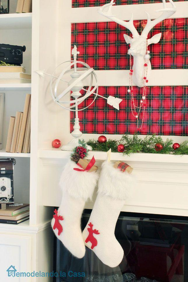"<p>We have no chill when it comes to plaid, and we aren't even sorry.</p><p>See more at <a href=""http://www.remodelandolacasa.com/2014/12/mwqkd.html"" rel=""nofollow noopener"" target=""_blank"" data-ylk=""slk:Remodelando La Casa"" class=""link rapid-noclick-resp"">Remodelando La Casa</a>. </p>"