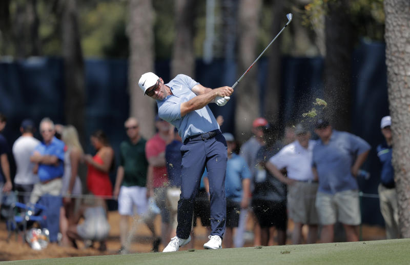 Casey holds 1-shot lead over Johnson at Innisbrook
